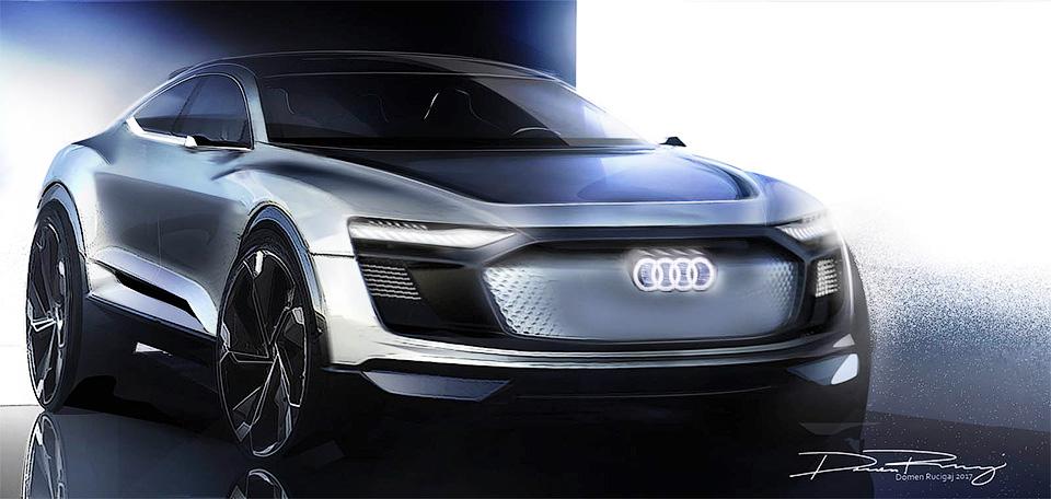 Компания показала изображения нового электрического концепта