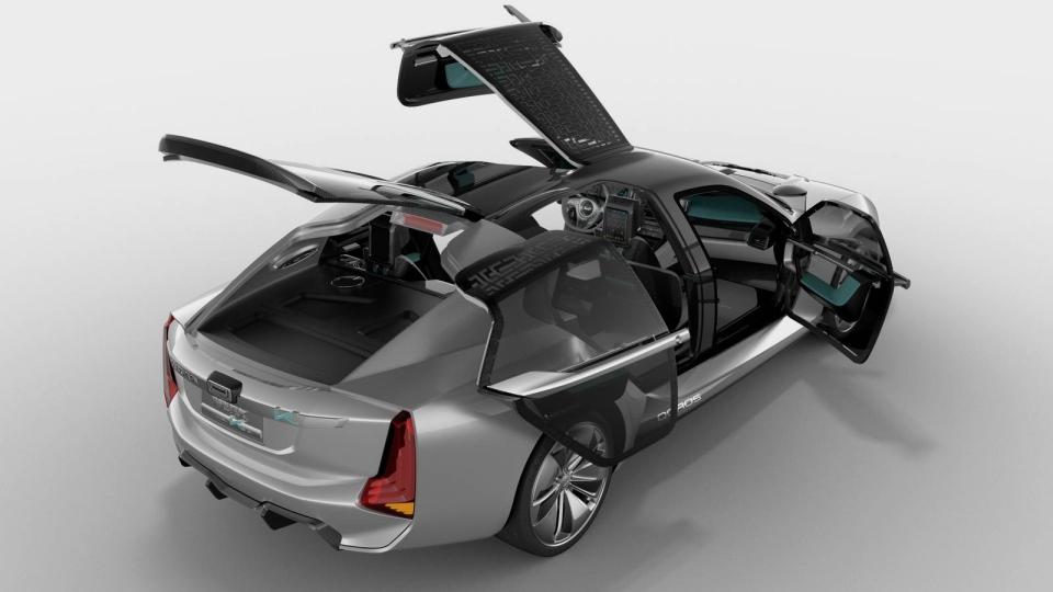 Совместный электрокар Koenigsegg иQoros наберет 100 км/час за2,6 секунды