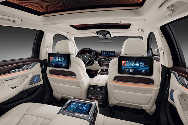 BMW 5-series получила удлиненную версию— Шанхайский автосалон