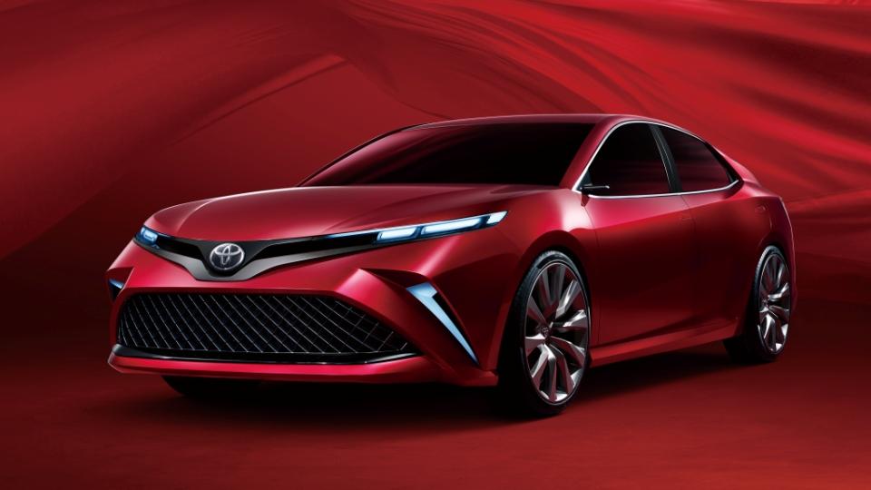 Toyota намекнула «веселым» концептом нановую китайскую Camry