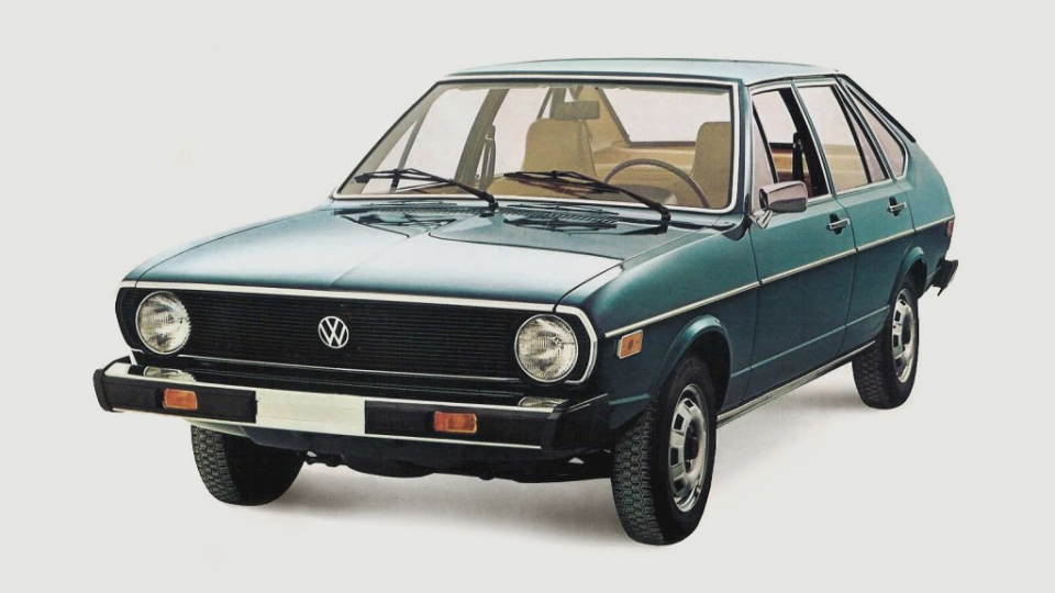 VW Passat с1974 года подорожал вшесть раз