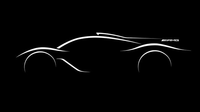 Гиперкар Mercedes-AMG получит четыре электромотора и1020 сил