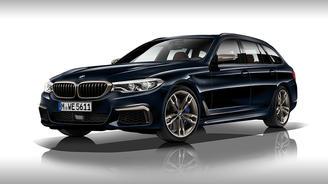 У BMW 5-серии появится дизель с 4-мя турбинами - BMW