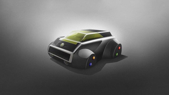 Игровые приставки ввиде машин
