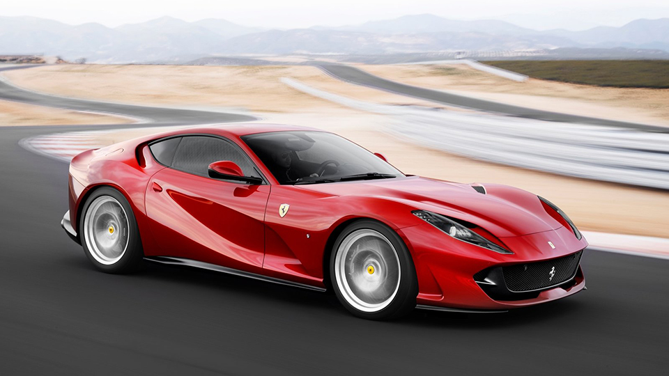 Феррари небудет переходить натурбированные двигатели V12