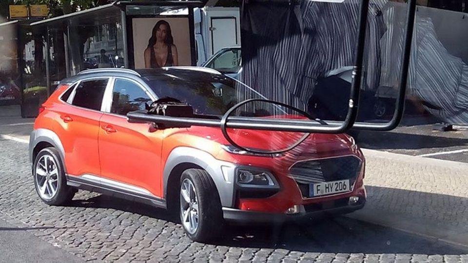 Каким будет компактный кроссовер Hyundai Kona. Первые фото