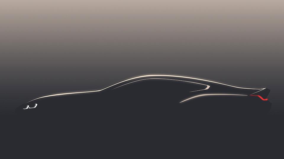 Размещен 1-ый тизер концептуального купе БМВ 8-Series