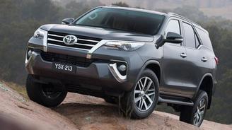 Toyota выводит внедорожник Fortuner на рынок СНГ
