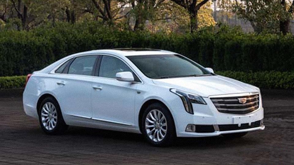 Китайцы раскрыли внешность нового Cadillac XTS