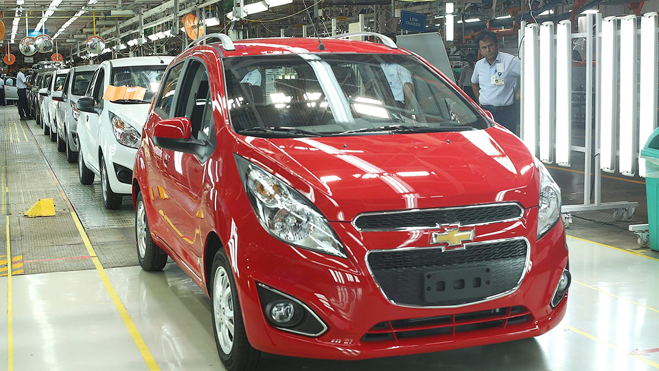 Марка Chevrolet ушла сдвух рынков