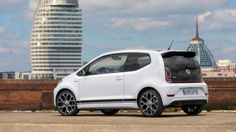 VW запустит всерию 115-сильный up! GTI