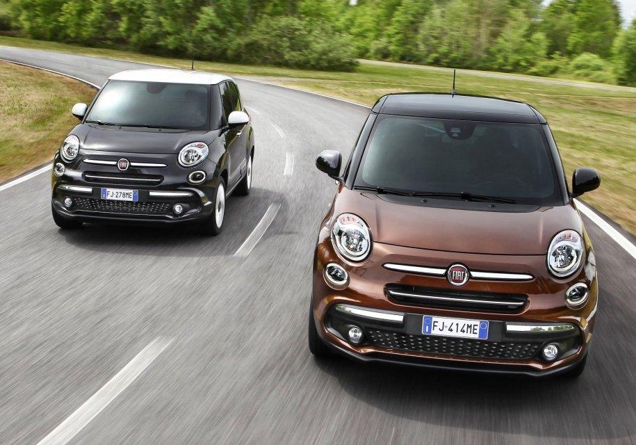 FIAT обновил компактвен 500L - Fiat