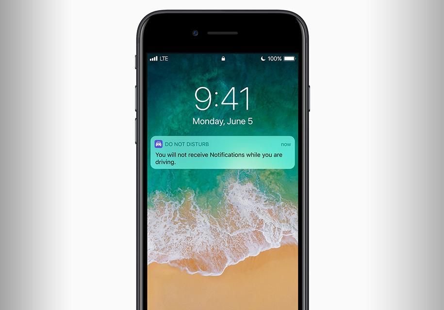 В iPhone появится аналог «авиа-режима» для водителей