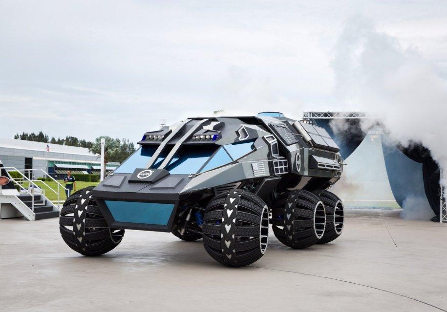 NASA представила вседорожный автомобиль для Марса