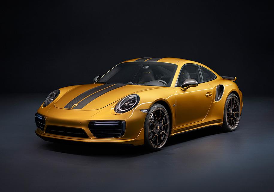 У Porsche появилась 607-сильная версия 911 Turbo S - Porsche