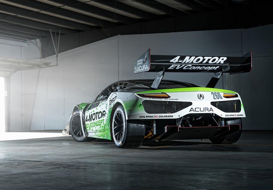 Хонда планирует выпустить электрический суперкар на 1000 л.с.
