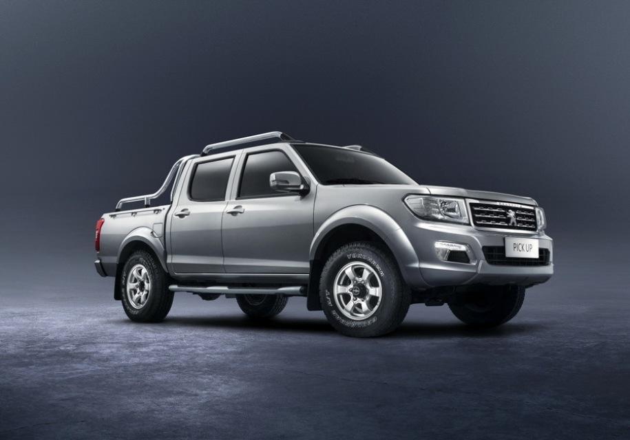 Peugeot (Пежо) делает для Африки японо-китайский пикап Pick Up