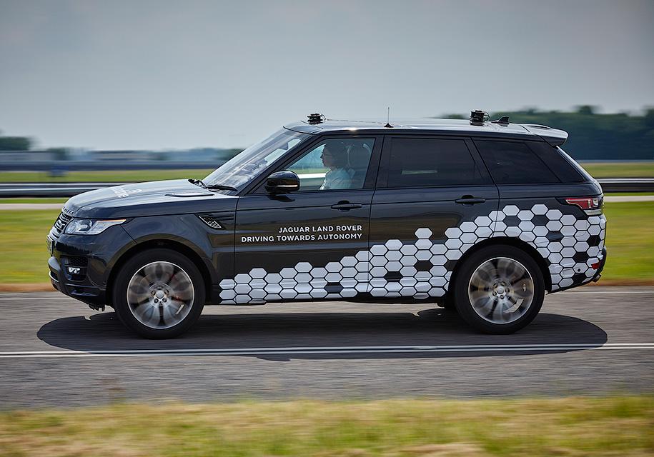 Land Rover анонсировал появление беспилотного внедорожника - Land Rover