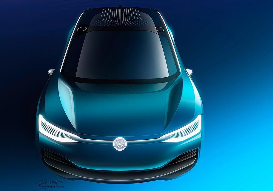 Всемействе VW I.D. появятся еще две модели