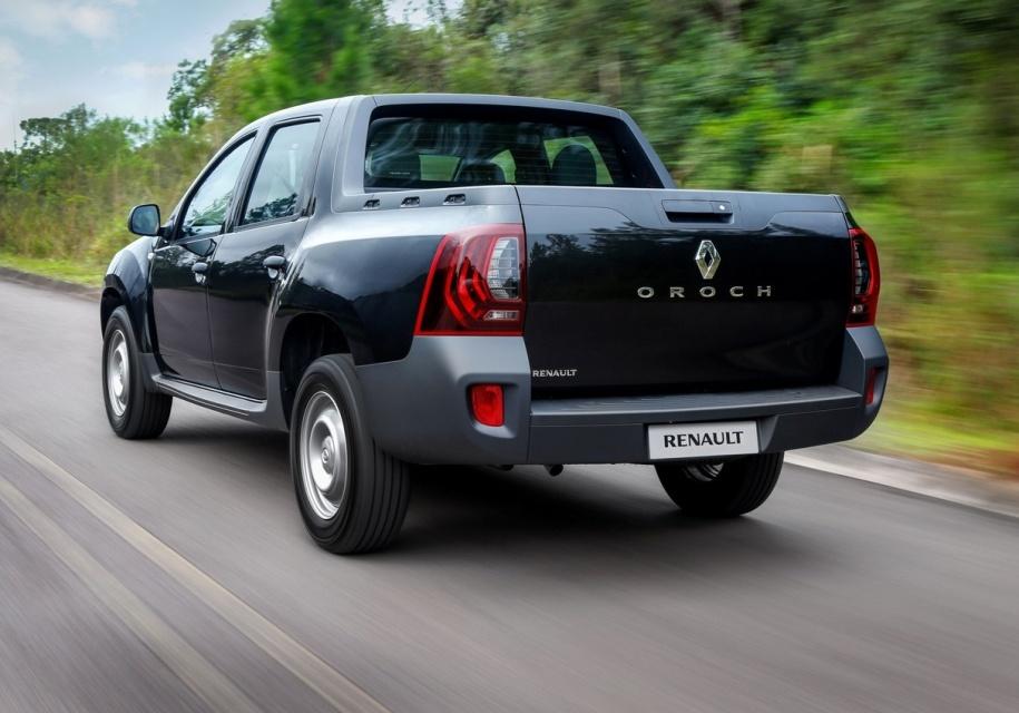 Renault представила самый доступный пикап на базе Duster - Duster