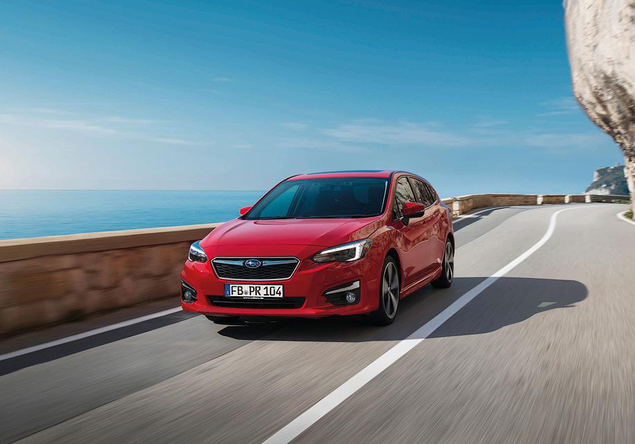 Subaru готовит европейскую версию Impreza