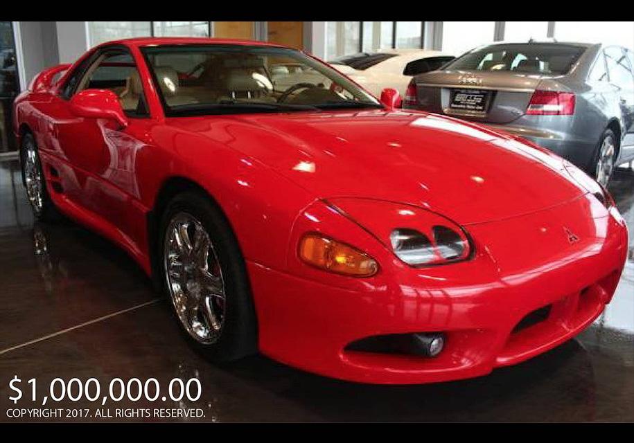 Может ли подержанный Mitsubishi стоить $1000000? Ответ - может. - Mitsubishi