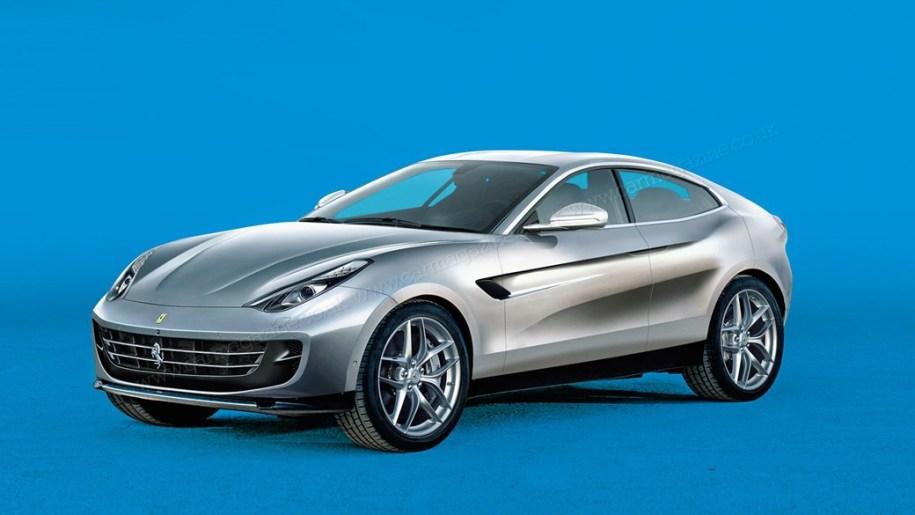 Ferrari сдалась и готовит кроссовер к 2021 году - Ferrari