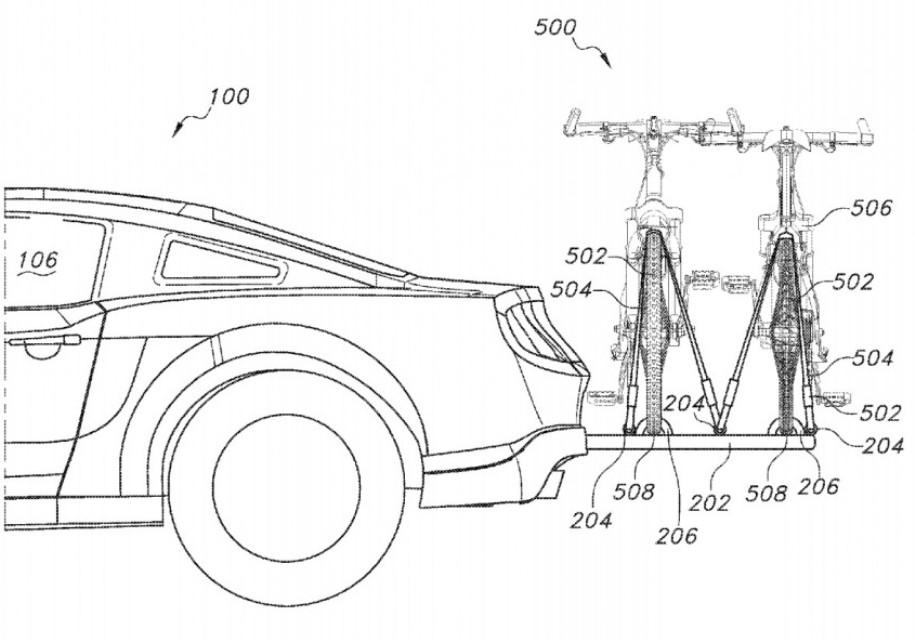 Ford анонсирует удобное крепление для перевозки велосипедов - Ford