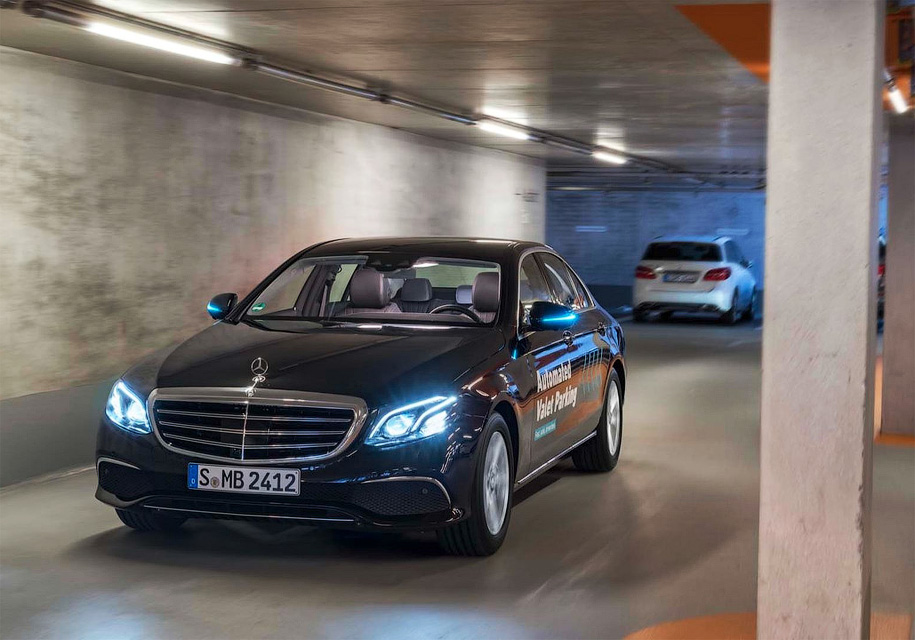 Daimler иBosch разработали парковку для беспилотных автомобилей