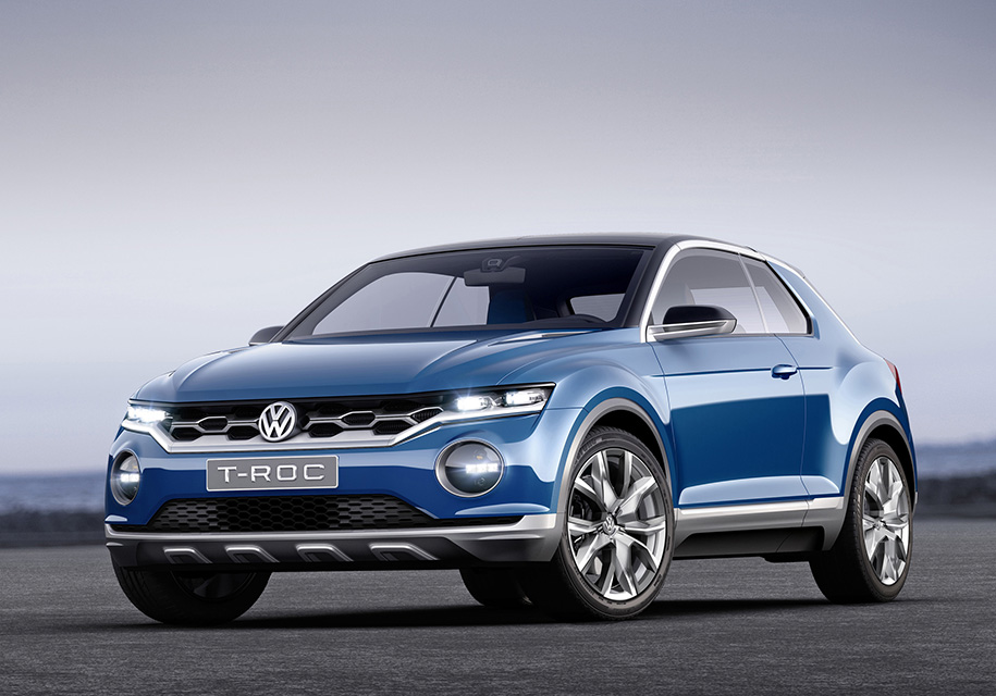 23августа VW представит новый кроссовер Фольксваген T-Roc