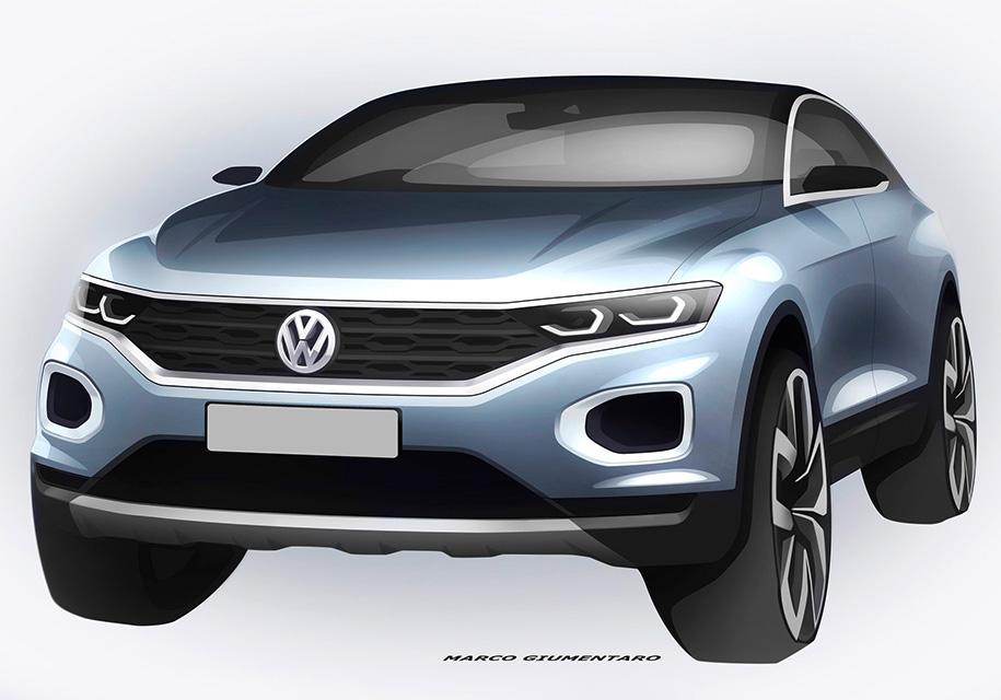 Volkswagen расскрыл каким будет компактный кроссовер T-Roc