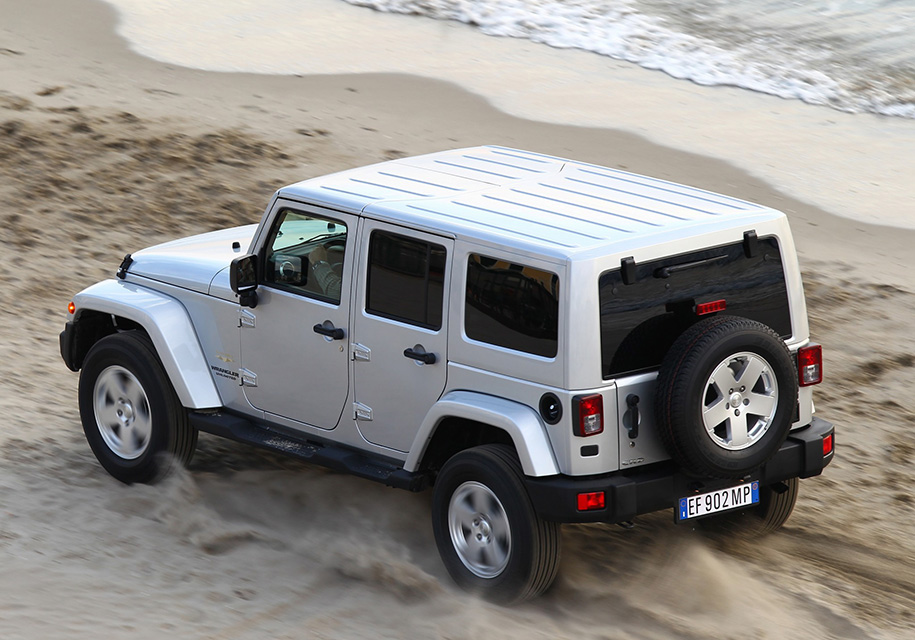 Непредвиденные  детали  — Новый Jeep Wrangler