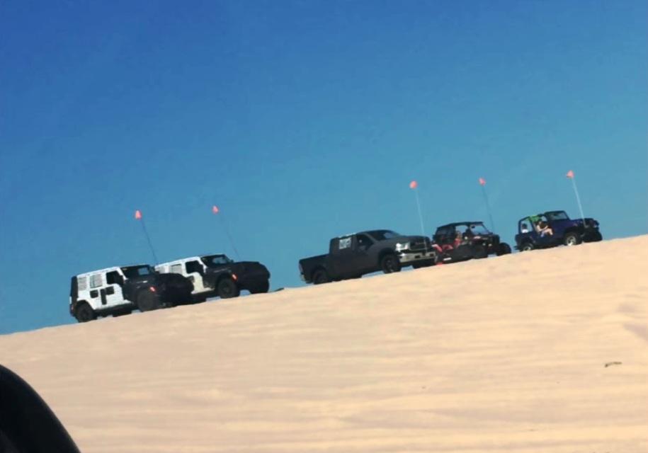 Новый Jeep Wrangler засняли вовремя гонки спредшественником
