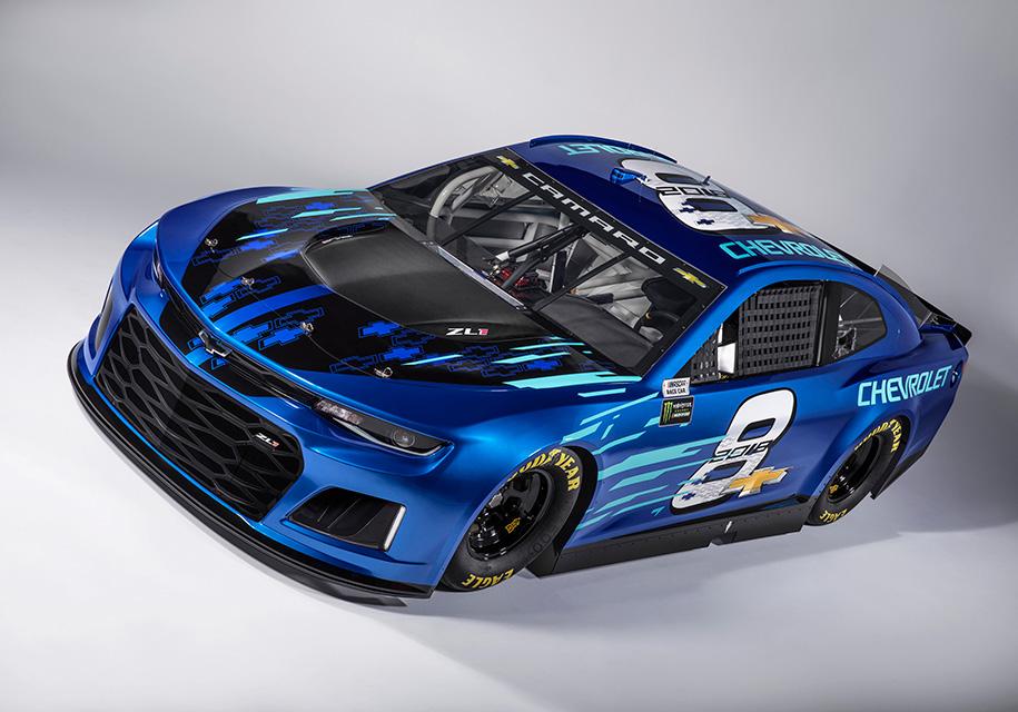 Шевроле подготовил новый Camaro ZL1 для гонок NASCAR