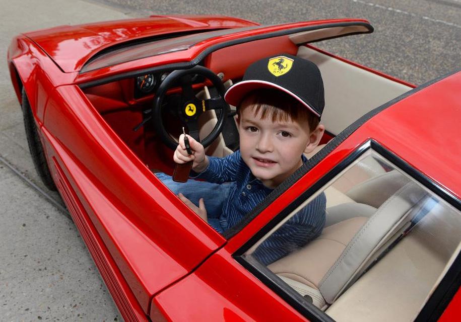 Детская Ferrari Testarossa