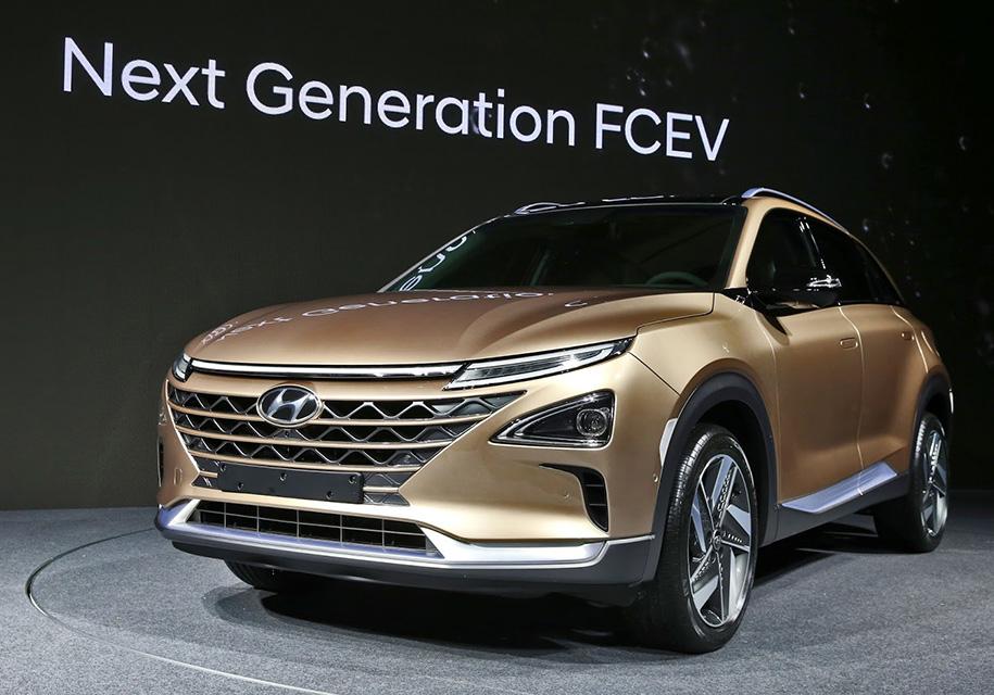 Hyundai представила водородный кроссовер с запасом хода 800 км - Hyundai