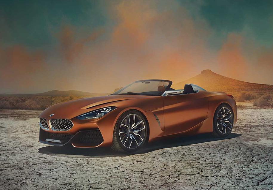 BMW рассекретила новый родстер Z4 - BMW