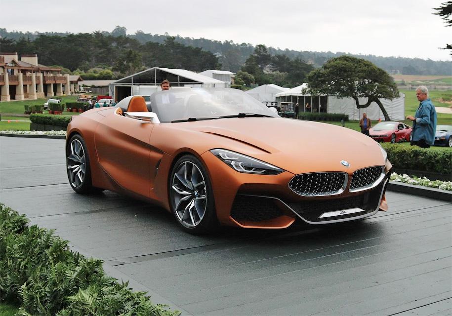 BMW представила концепт родстера