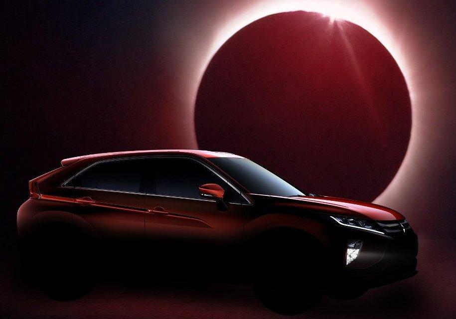 Mitsubishi решила нестандартно использовать солнечное затмение - Mitsubishi