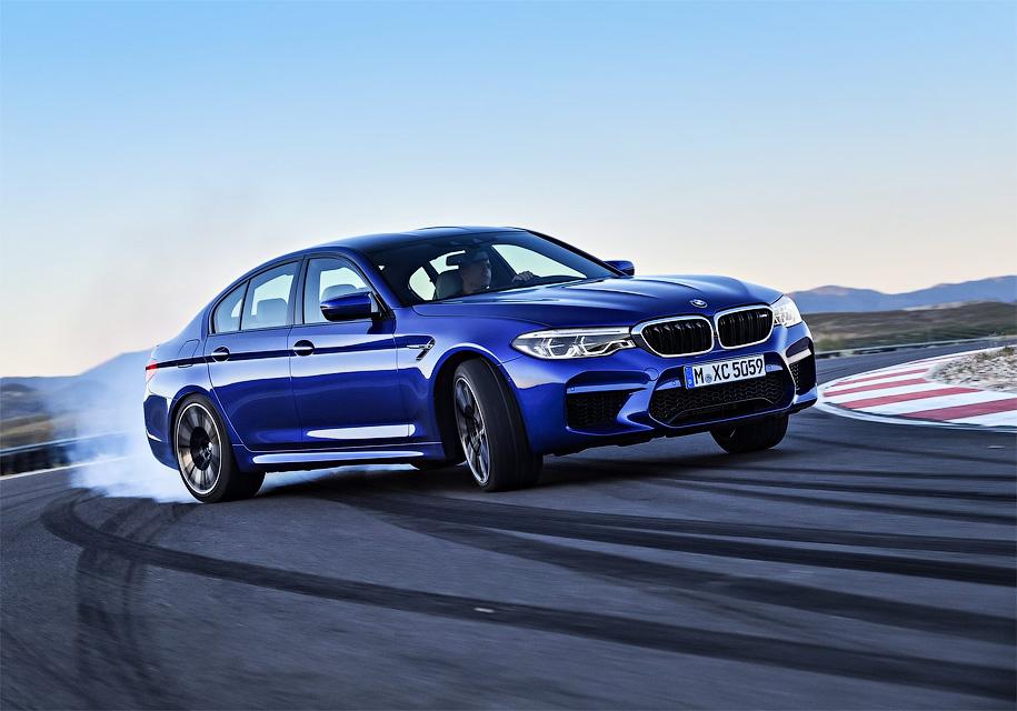 """BMW M5 получила двигатель 600 л.с. Подробности о """"горячей"""" """"пятерке""""."""