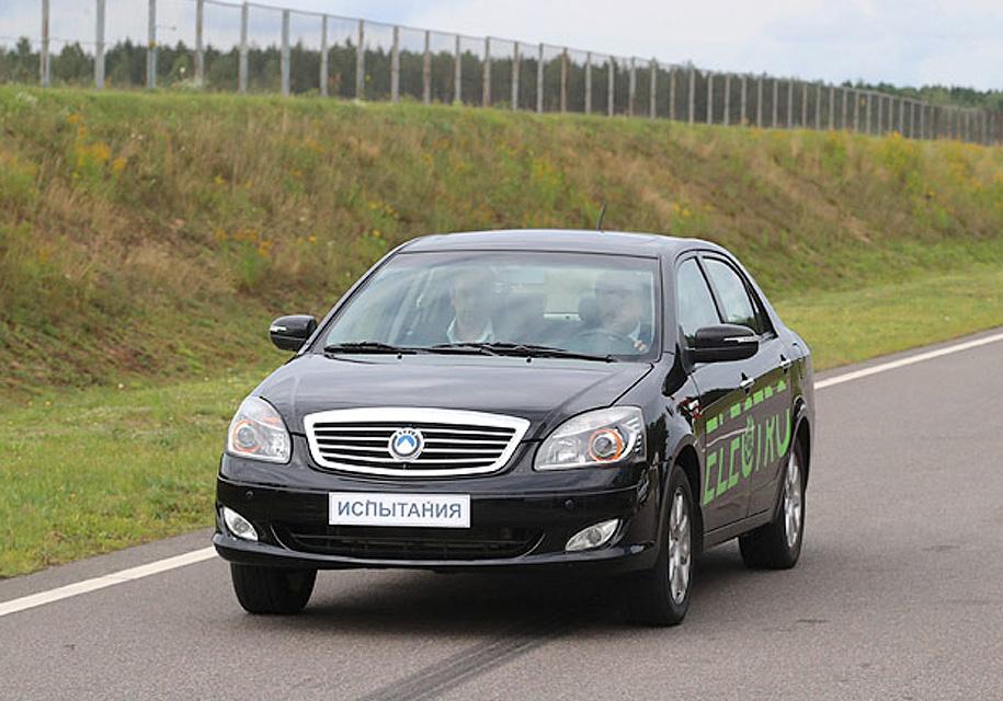 В Беларуси представили собственный электромобиль - Geely
