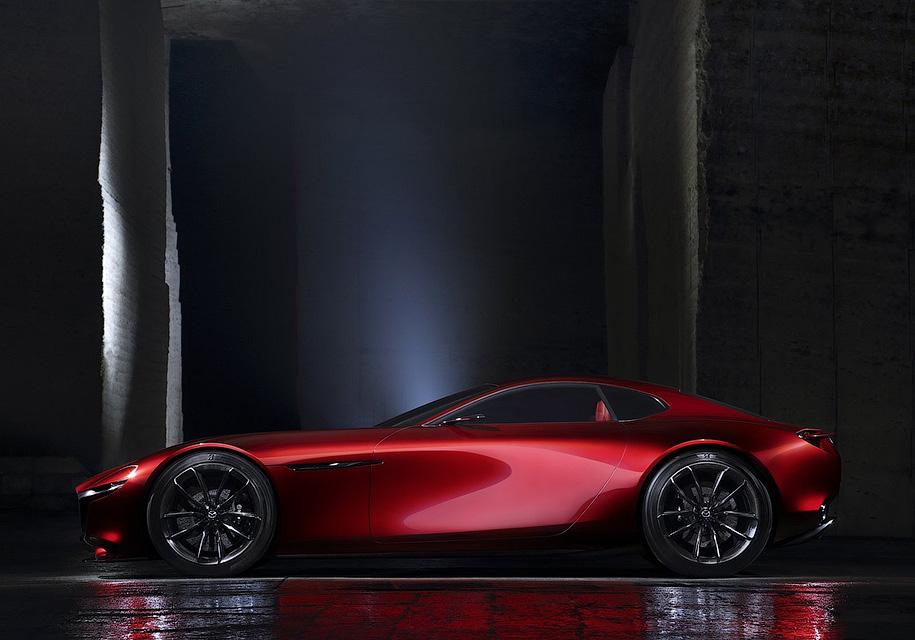 У спорткара RX-9 от Mazda двери будут открываться вверх