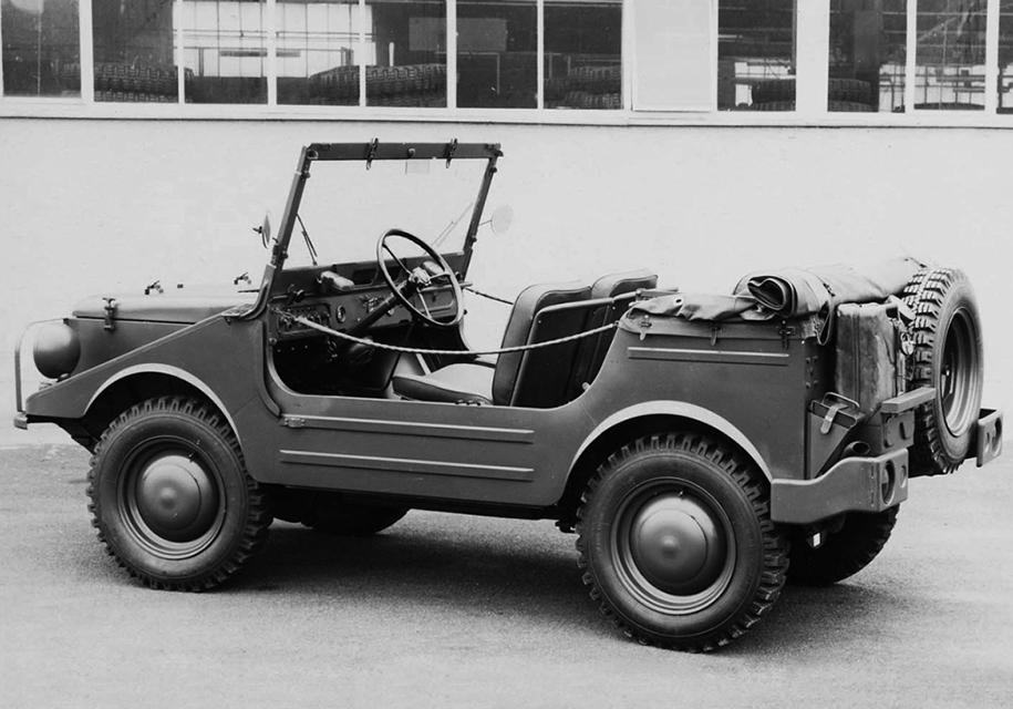 DKW Munga, по сути, детище Audi