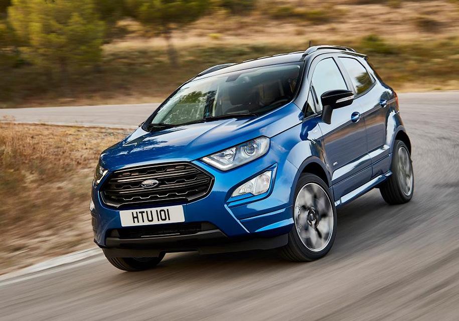 Ford обновил дизайн компактного кроссовера EcoSport - Ford