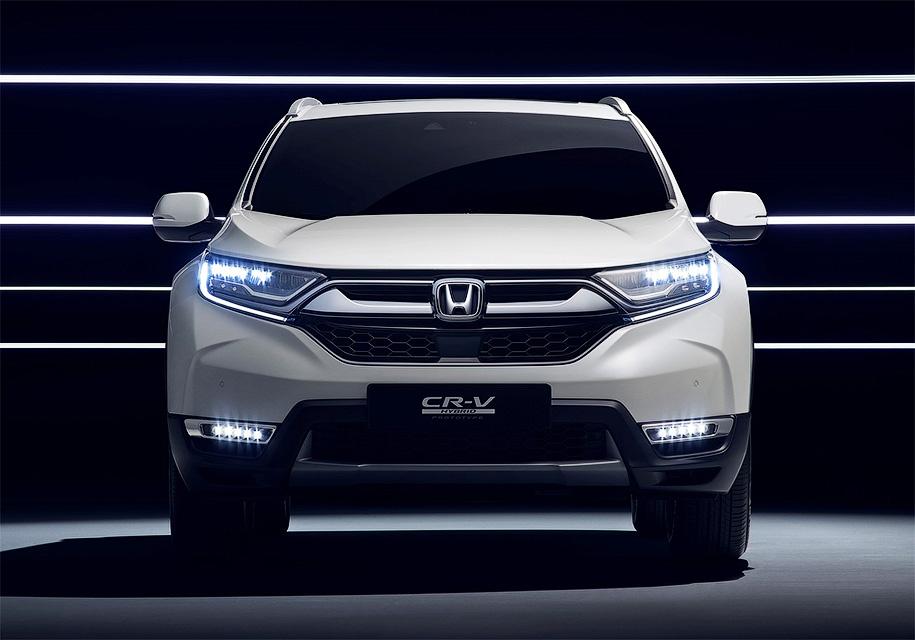 Honda представит в Европе гибридный CR-V - Honda