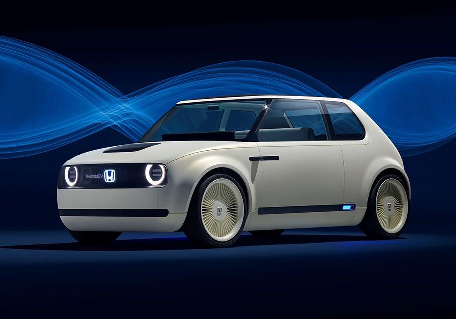 Хонда показала концептуальный автомобиль UrbanEV
