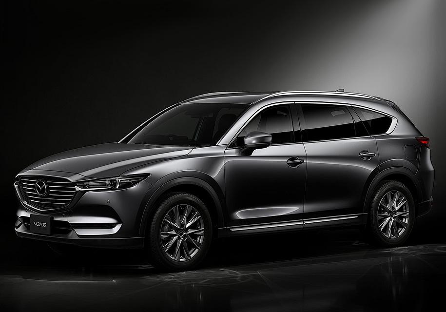 Mazda рассекретила кроссовер CX-8 - Mazda