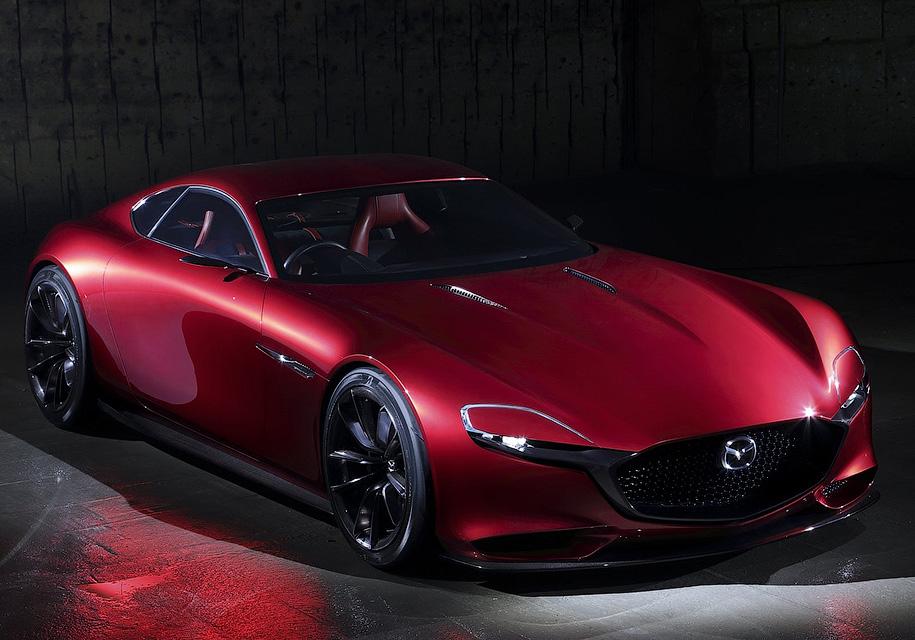 Mazda представит купе с роторным двигателем уже в октябре