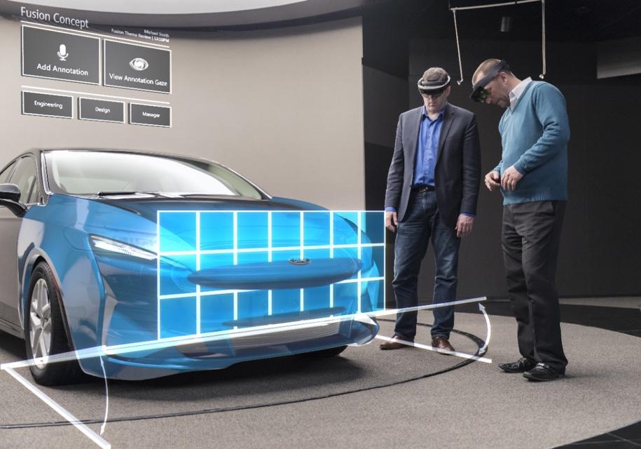 Ford ускорит разработку новых авто с помощью технологии смешанной реальности - Ford