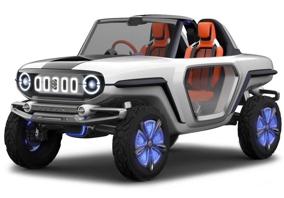 Сузуки представит вседорожный автомобиль Сузуки e-Survivor наавтомобильном шоу вТокио